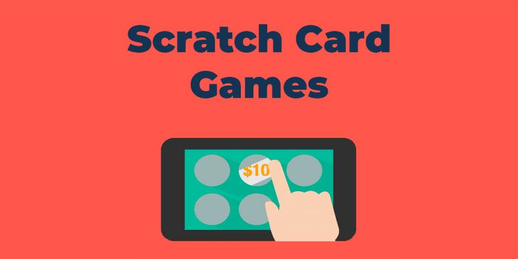 The process of playing scratch cards